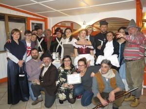La squadra vincitrice della Cena coi Briganti del 24 febbraio, eccola qua!